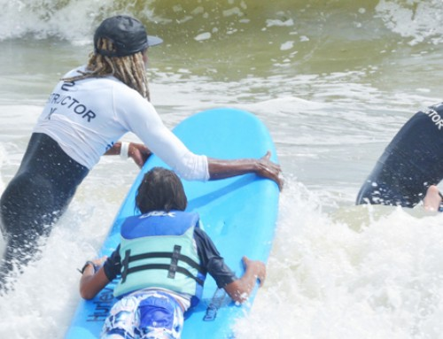 MAKING WAVES: HSS HOSTS FIRST ADAPTIVE SURFING TRIP